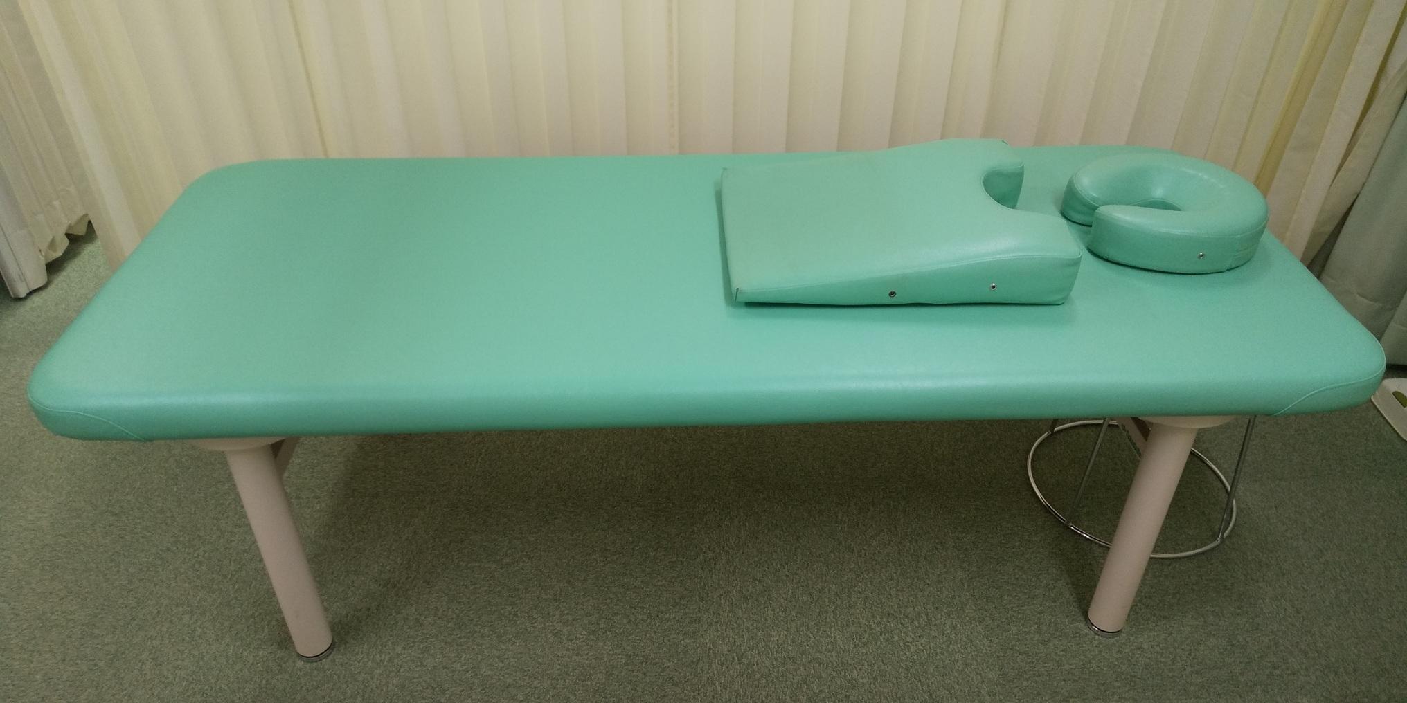 除菌ベッドを用意しました